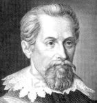 1859 engraving of Johannes Kepler