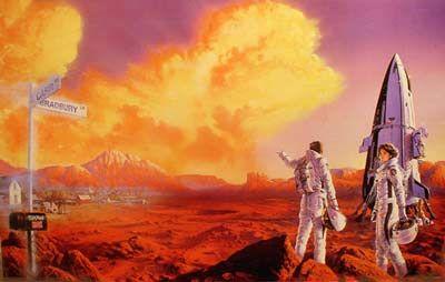 The Martian Chronicles illustration