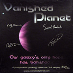 Vanished Planet cover