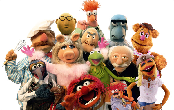 Muppets group portrait