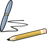 Pen and pencil clipart