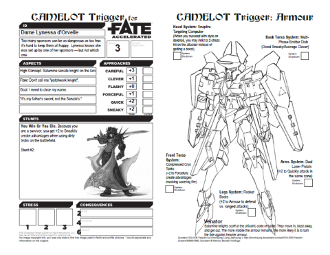 character makes fate A video walk through the character creation process in fate core character sheet.