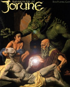Skyrealms of Jorune 2nd edition - cover