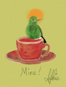 Coffee-and-bird