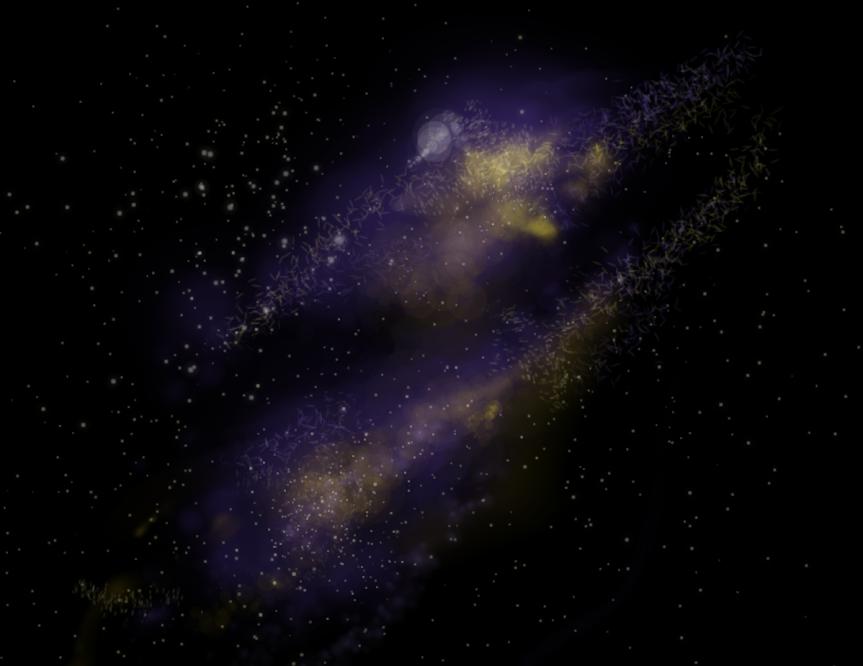 Nebula 2, by Sophie Lagacé