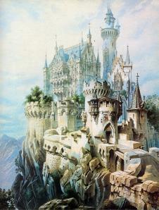 Schloss_Falkenstein_Planung_Gemälde_Historismus_Ludwig
