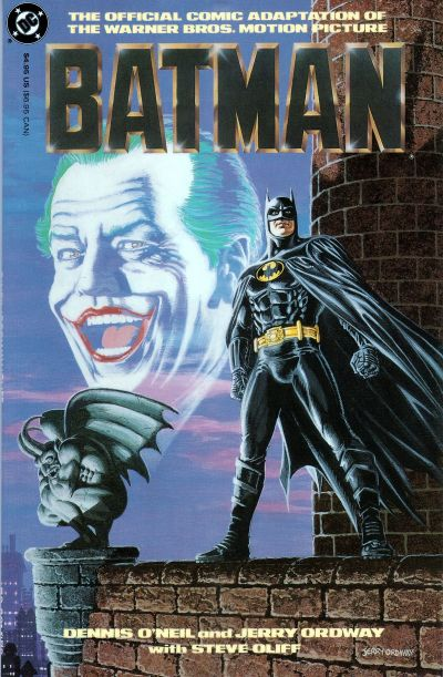 Jerry Ordway, Batman movie adaptation