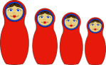 Matrioshka (Russian dolls)