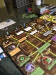 Arkham Horror: All-female roster, all starting in the North End.