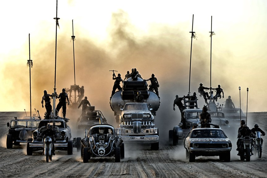 Mad Max: Fury Road - Oncoming vehicles