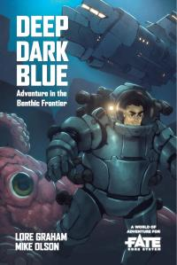 cover of Deep Dark Blue