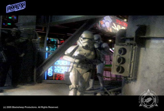 ... and the girly stormtroopers in the later IMPS: The Relentless?