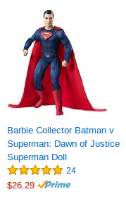 Superman-doll