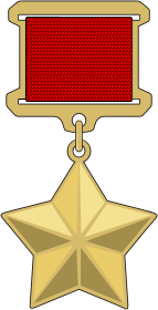 Hero of the Soviet Union medal