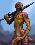 Reptile chick, by puppeli - Creative Commons Attribution-Noncommercial 3.0 License.
