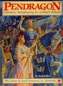 King Arthur Pendragon, 1st ed. cover