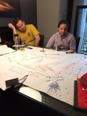 DramaSystem: Creating the relationship map