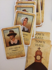 Town Hall cards