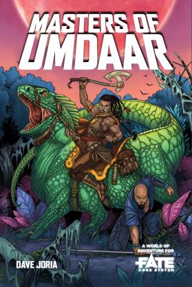 Masters of Umdaar cover