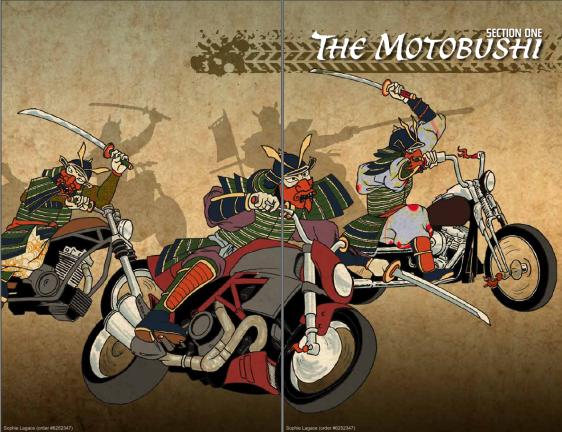 Screenshot from Motobushido