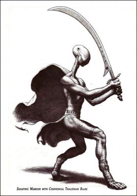 Shantha warrior