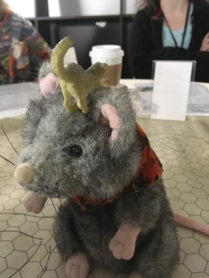Growltiger ain't afraid of no rat...