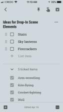 Notes on Google Keep