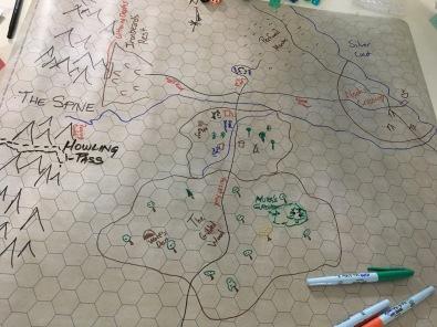 Dungeon World: Regional map